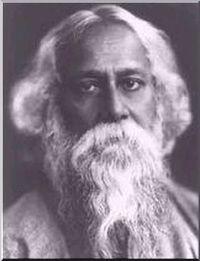 Portrait de Tagore