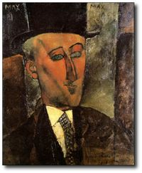 Max Jacob par Modigliani