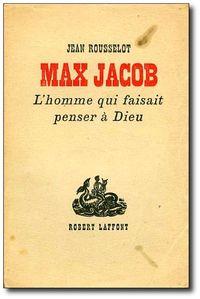 Max Jacob par Jean Rousselot