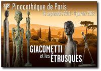 Giacometti  et les Étrusques