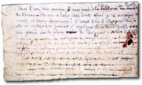 manuscrit de Nerval