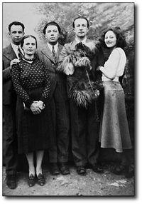 Avec Elsa, Breton, Éluard et Nusch