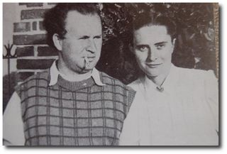 René-Guy et Hélène Cadou