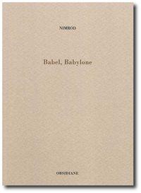 Nimrod, Babel, Babylone