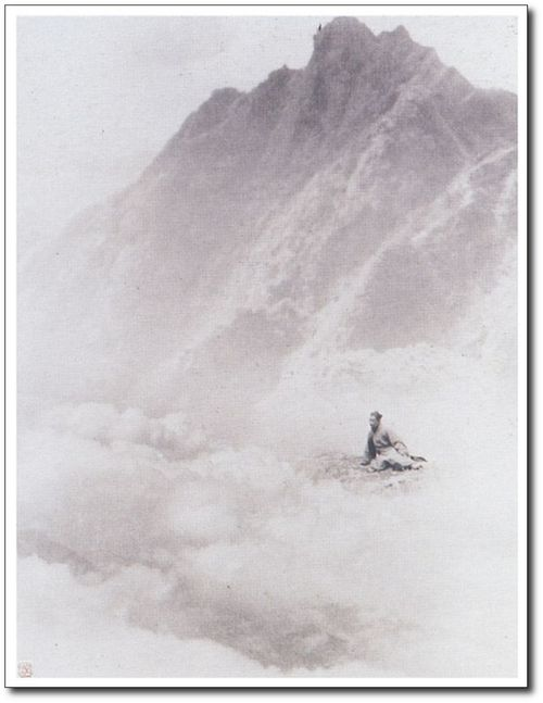 Paysage chinois - Photo de Chin-San Long (1892-1995)