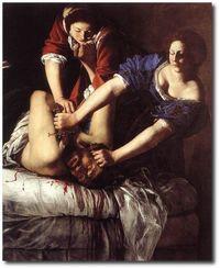 Artemisia, Judith et Holopherne