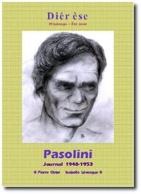 Pasolini dans la revue Diérèse