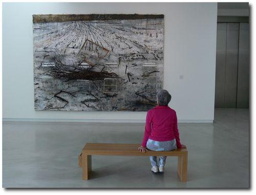 A.Kiefer, expo du musée Wurth, 2011 © PPKobel