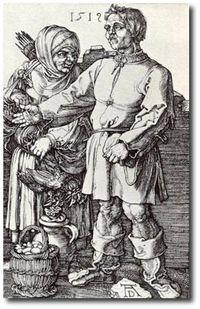 Rutebeuf par Albert  Dürer