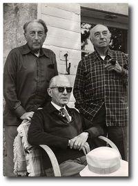 Audisio avec Henri Bosco et Louis Brauquier