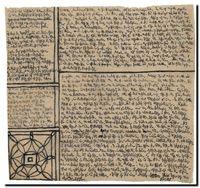 Manuscrit de R.Walser