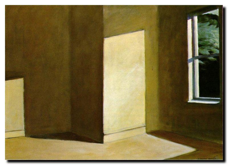 Hopper_sun in an empty room