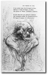 Les Fleurs du Mal illustrées par Rodin