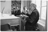 L.Ray avec Jean Portante et Jean-Luc Despax, Paris 2012 - Photo PPKobel