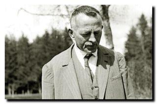 Robert Walser âgé