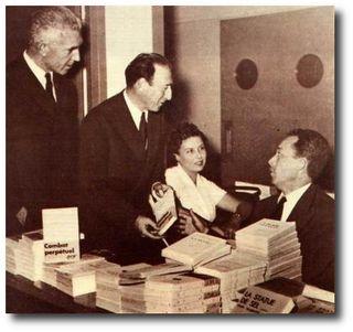 Audisio avec Jules Roy et Camus