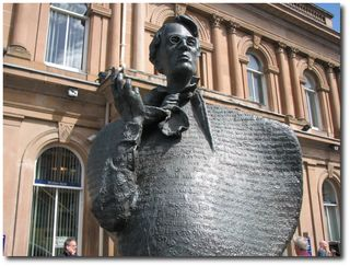 William Butler Yeats - statue