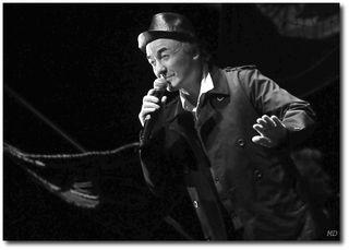 Gérard Pierron chante Louis Brauquier, © Michel Durigneux