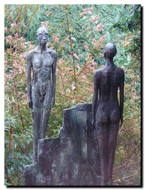Sculpture de Karel Zijlstra, photo Gérard Vauléon