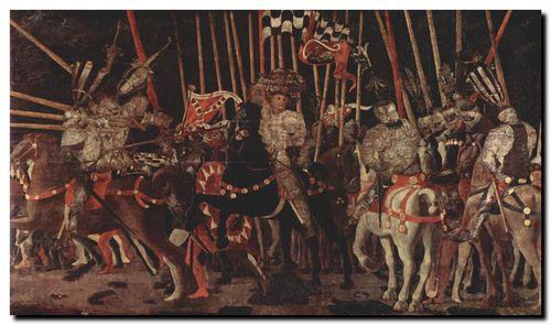 Ucello, La bataille de San Romano