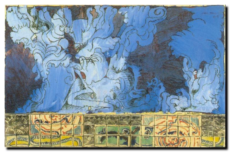 Alechynski, Bleu de Delft