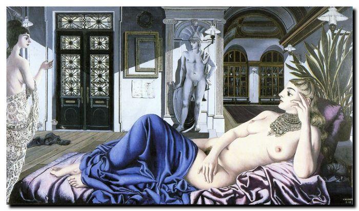 Paul Delvaux, L'éloge de la mélancolie