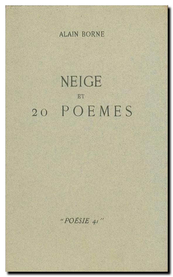 Alain Borne Neige