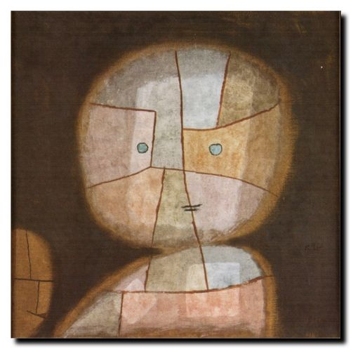Paul Klee Buste d'enfant