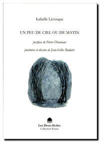 Isabelle Lévesque | Un peu de ciel ou de matin