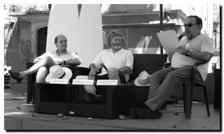 Alain Gorius, Bruno Doucey, Michel Baglin - © PPKobel