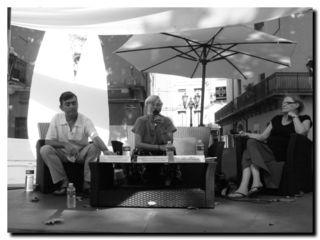 Patrick Simon, Martine Gonfalone-Modigliani et Françoise Lonquéty - © Photo Roselyne Fritel
