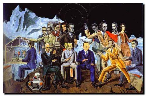 Max Ernst, Les Surréalistes