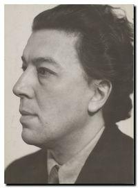 André Breton en 1935 par Man Ray