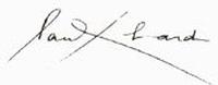 Signature eluard