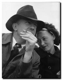 Éluard et Nush - Photo Lee Miller, 1937