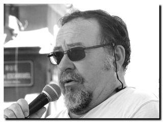 Michel Baglin à Sète, juillet 2013 - © PPierre Kobel