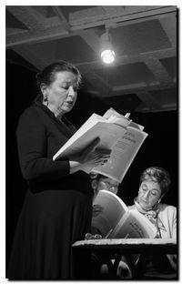 Angèle Paoli | Café poésie de Marly le Roi | © photo PPierre Kobel