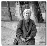 Anne Hébert en 1986 - © Photo Harry Palmer