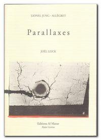 Jung Allégret | Parallaxes