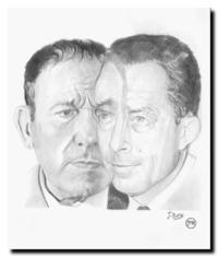 Jacques Basse, René Char et Albert Camus