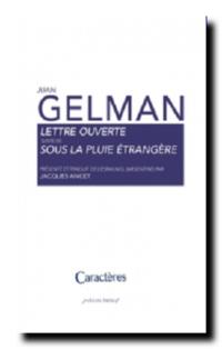 Juan Gelman | Lettre ouverte