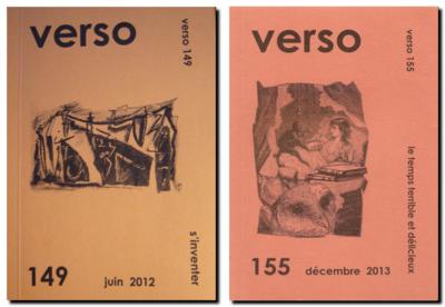 Couvertures de Verso