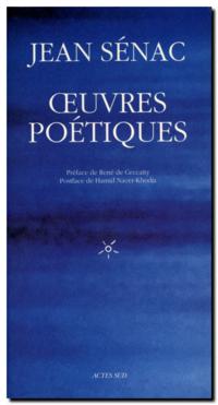 Jean Sénac | Oeuvres poétiques