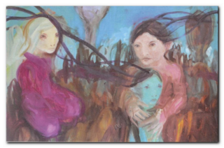 Peinture de Ruta Jusionyte
