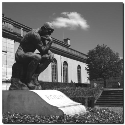 Meudon, la tombe de Rodin - le penseur, © PP.Kobel