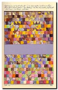 Peinture de Paul Klee