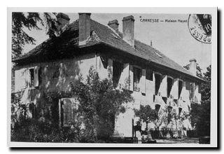 Carresse maison mayet