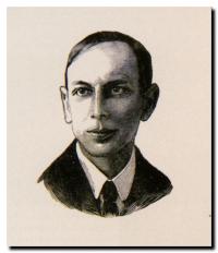 Henri Michaux - Gravure sur bois de G.Aubert